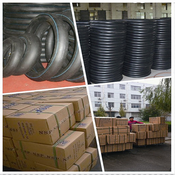 Natural Rubber Motorcycle Inner Tube 300-18
