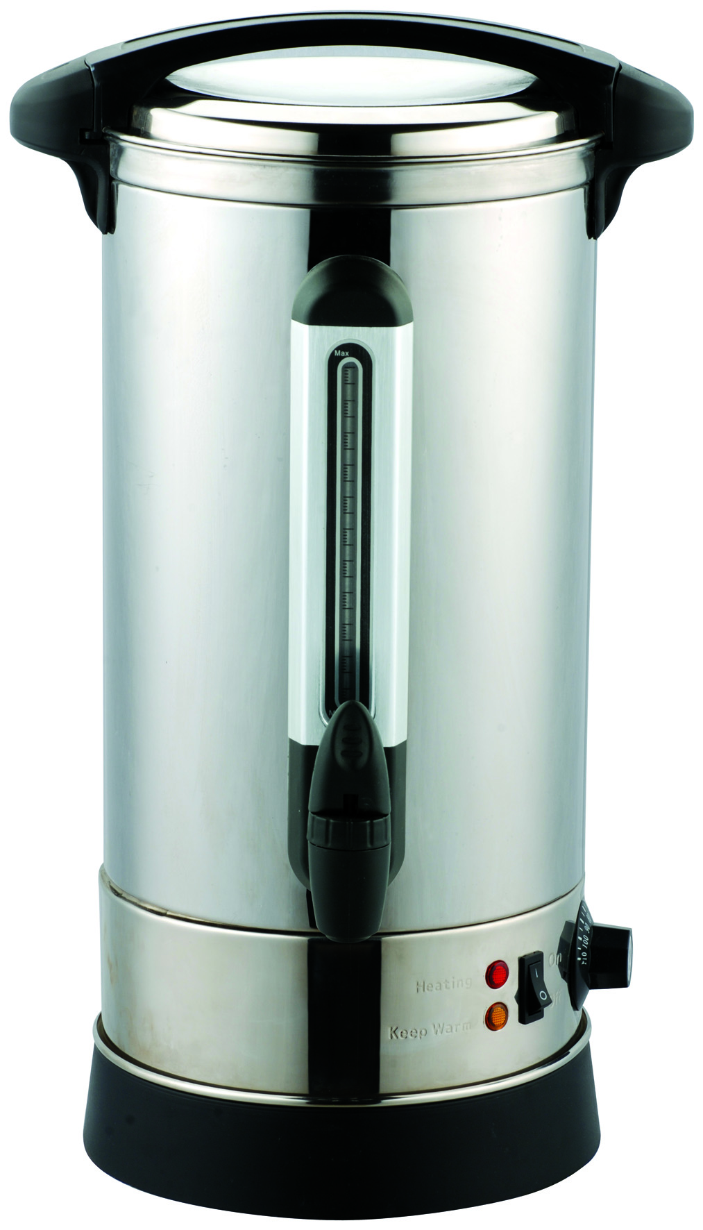 stainless steel commercial coffee urn