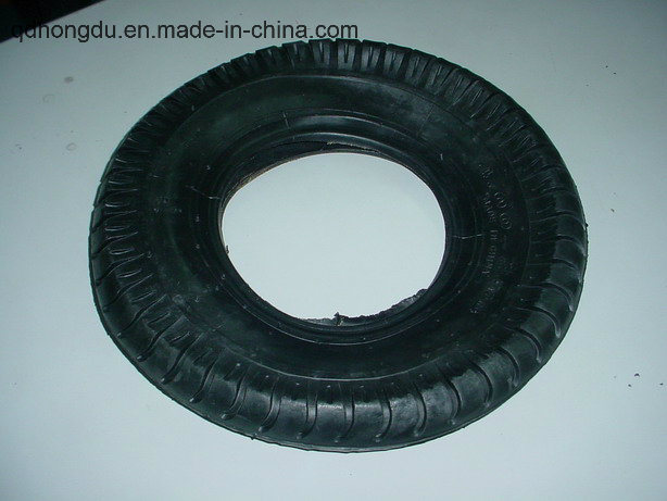 3.50-4 Pneumatic Rubber Wheel for High Pressure Cleaner