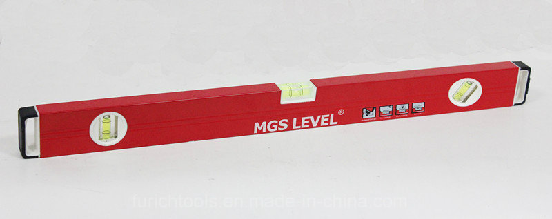Aluminum Box Level, Spirit Level - 600mmred (700812B)