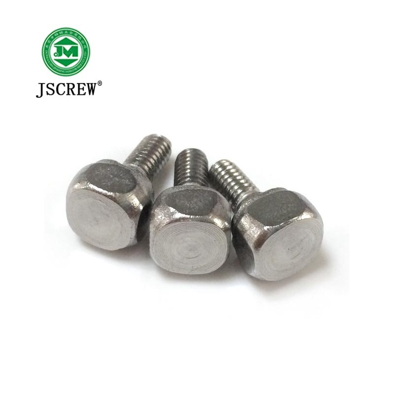 Square Head Stainless Steel M4*8 Shoulder Bolt