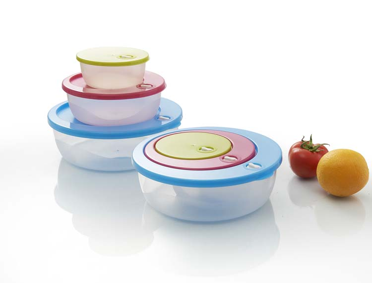 Multi-Usage Valley Cartoon Sweet Gift Microwave Plastic Food Case Box Container Sets
