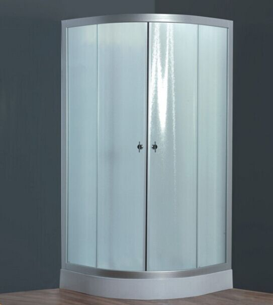 Fabric Glass Low Tray Shower Enclosure (ADl-8012D)
