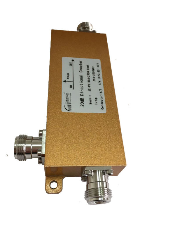 20dB低Pim /相互変調型Dirctional Coupler 698-2700MHz
