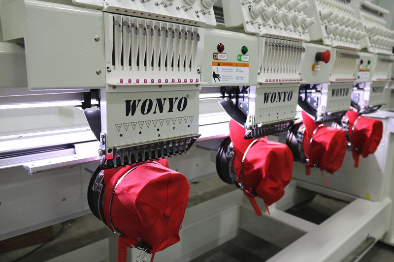 6 Heads Swf Embroidery Machine in Korea Computer Embroidery Machine