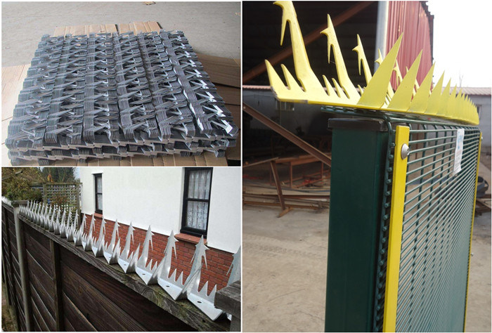 Hot-DIP Galvanized Anti Climb Wall Spikes for Fence