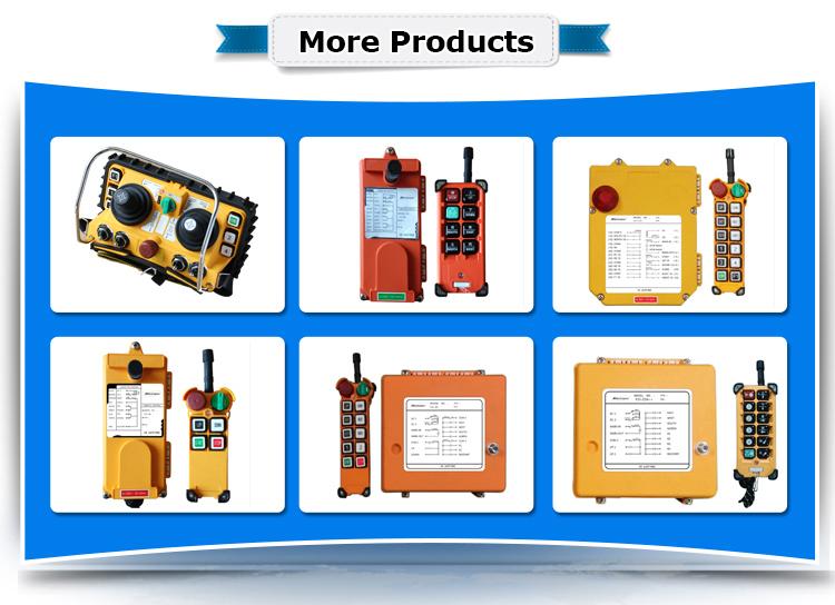 Wireless Mobile Crane Remote Control Switch