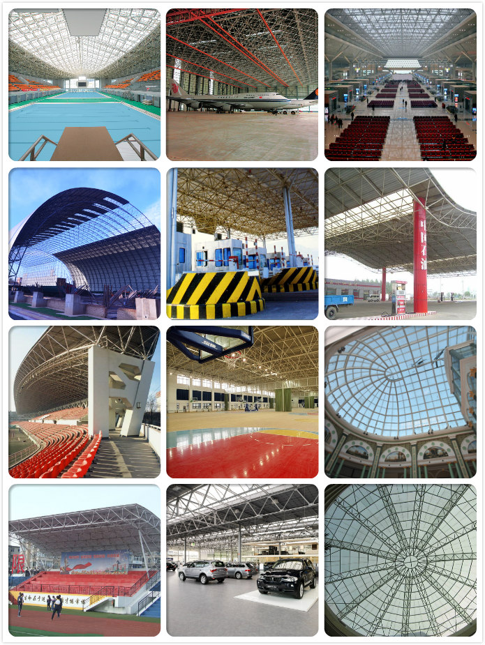 Hot Sale Stadium Bleachers Steel Truss System