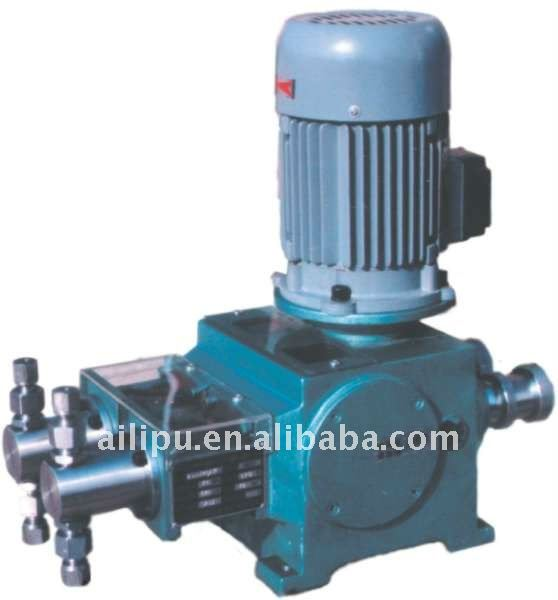Piston Pump for High Viscosity