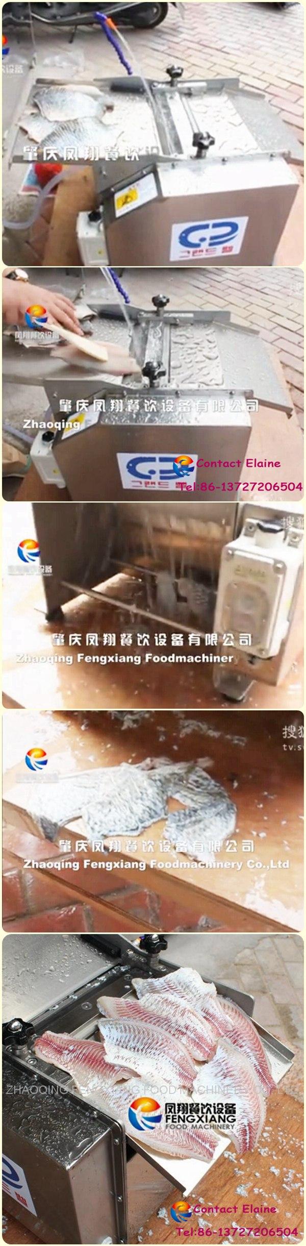 Automatic Fish Skin Peeler Remover Skinning Removing Peeling Processing Machine