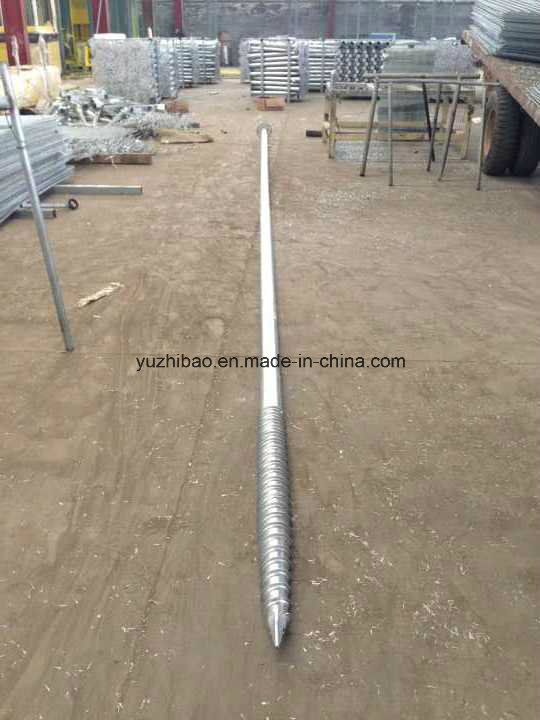 Ground Anchor, HDG Ground Screw for Solar Mounting