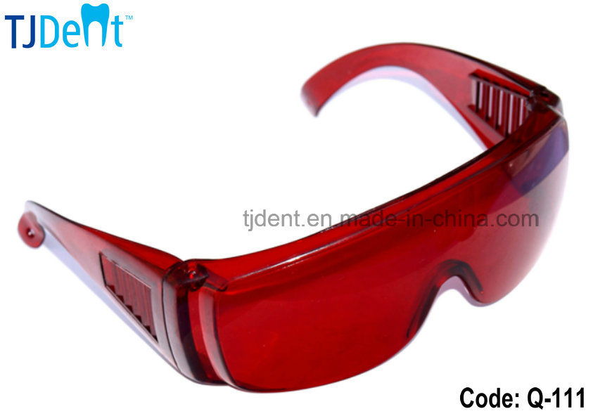 Dental Teeth Whitening Curing Blue Light Protective Goggle Glasses (Q-111)