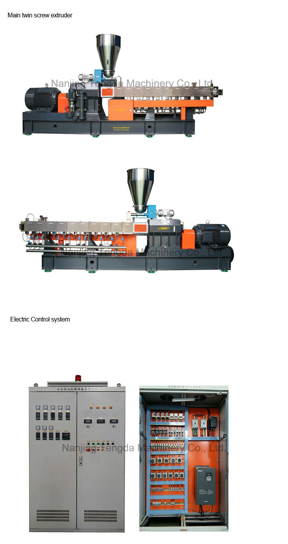 High Filler Formulation Twin Screw Extruder