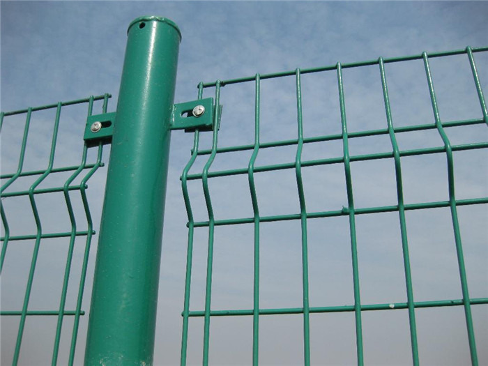 High Security Bending Tiangular Welded Fence