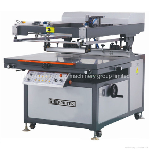 Oblique Arm Ce Approved Flat Silk Screen Printing Machine