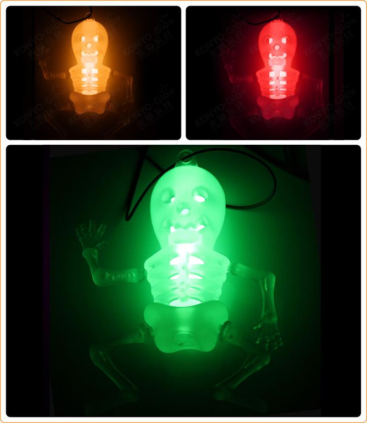 Helloween Glow Skeleton