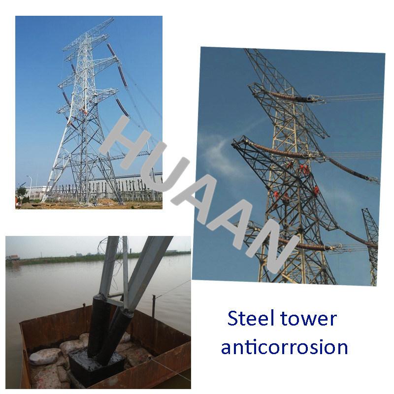 Hot DIP Galvanized Electric Transmission Line Iron Monopole
