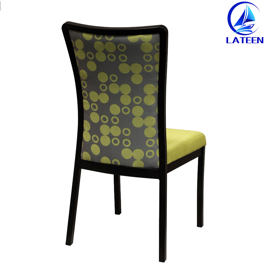 Foshan Restaurant Furniture New Design Metal Hotel Banquet Dining Room Chair