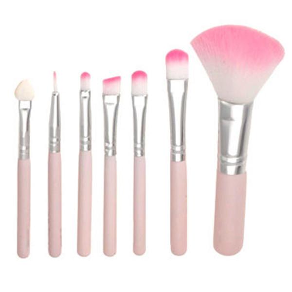 7 Pieces Professional Cosmetic Facial Makeup Brush