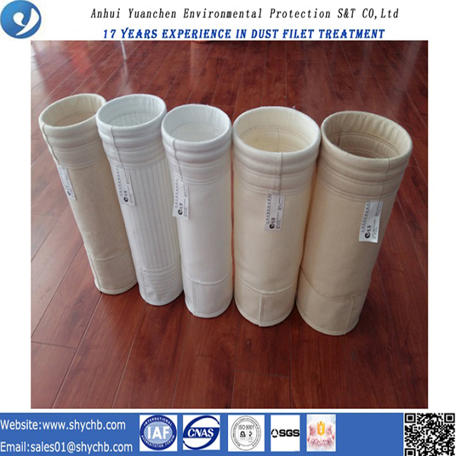 Water and Oil Proof PPS and P84 Compound Filter Bag for Dust Collection Bag