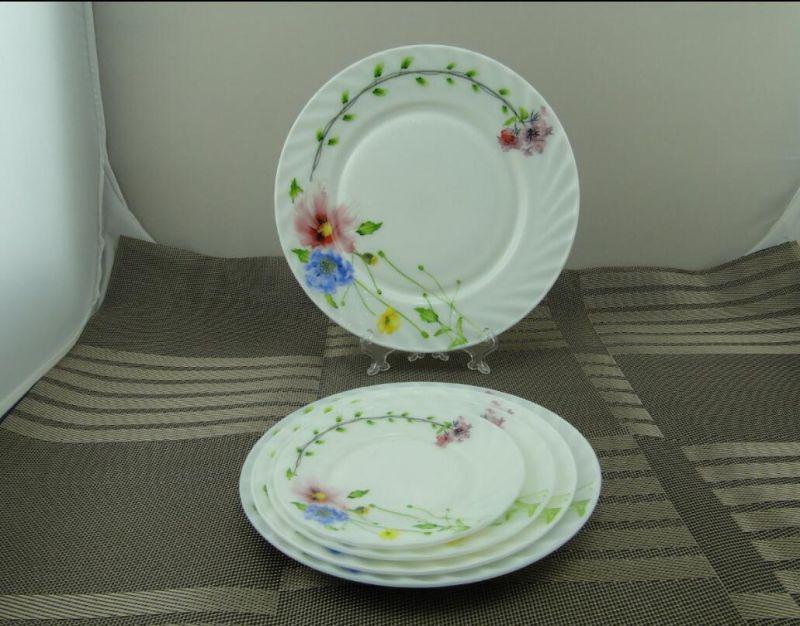 Opal Glass 9'flate Plate