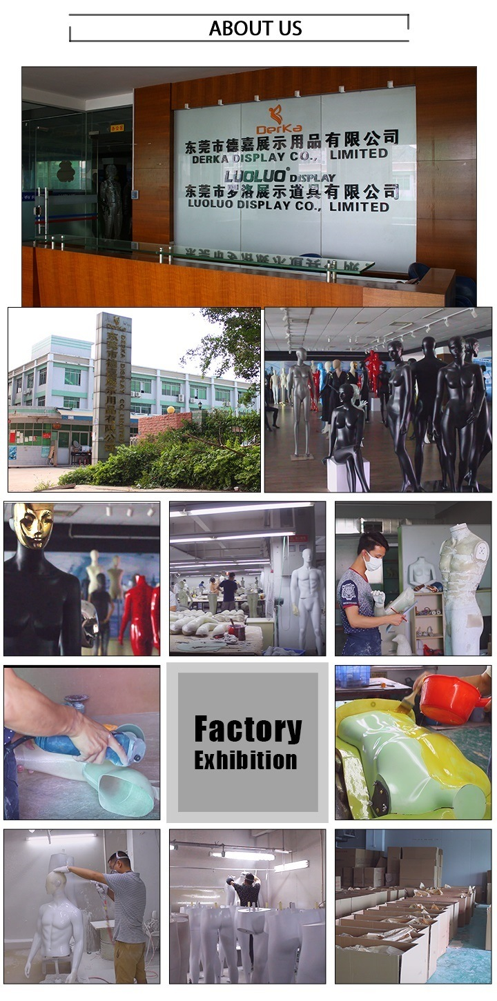 Wholesale FRP Fashion Window Display Women Mannequin for Shopping Mall