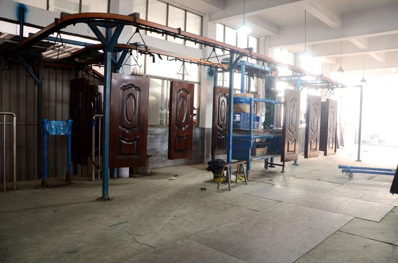 Steel Security Door Single Door New Design China Supplier Iron Door (FD-035)