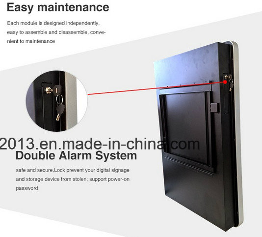 21.5 Inch Android Wall Mounted Mobile Phone Charging Station Locker Display Charging Advertising Machine