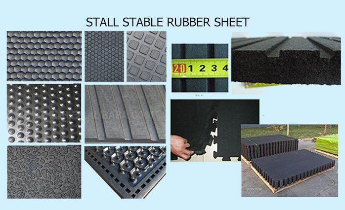 2016 Hot Sale Good Quality SBR Rubber Sheet Roll Mat
