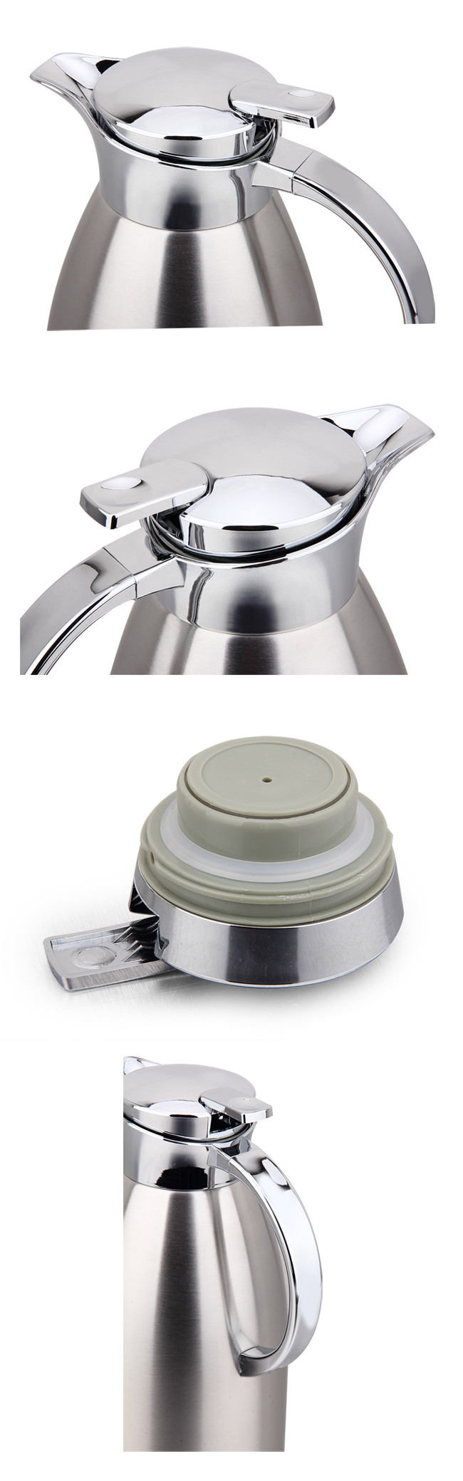Penguin Shape Head 201 Stainless Steel Vacuum Coffee Pot & Tea Kettle