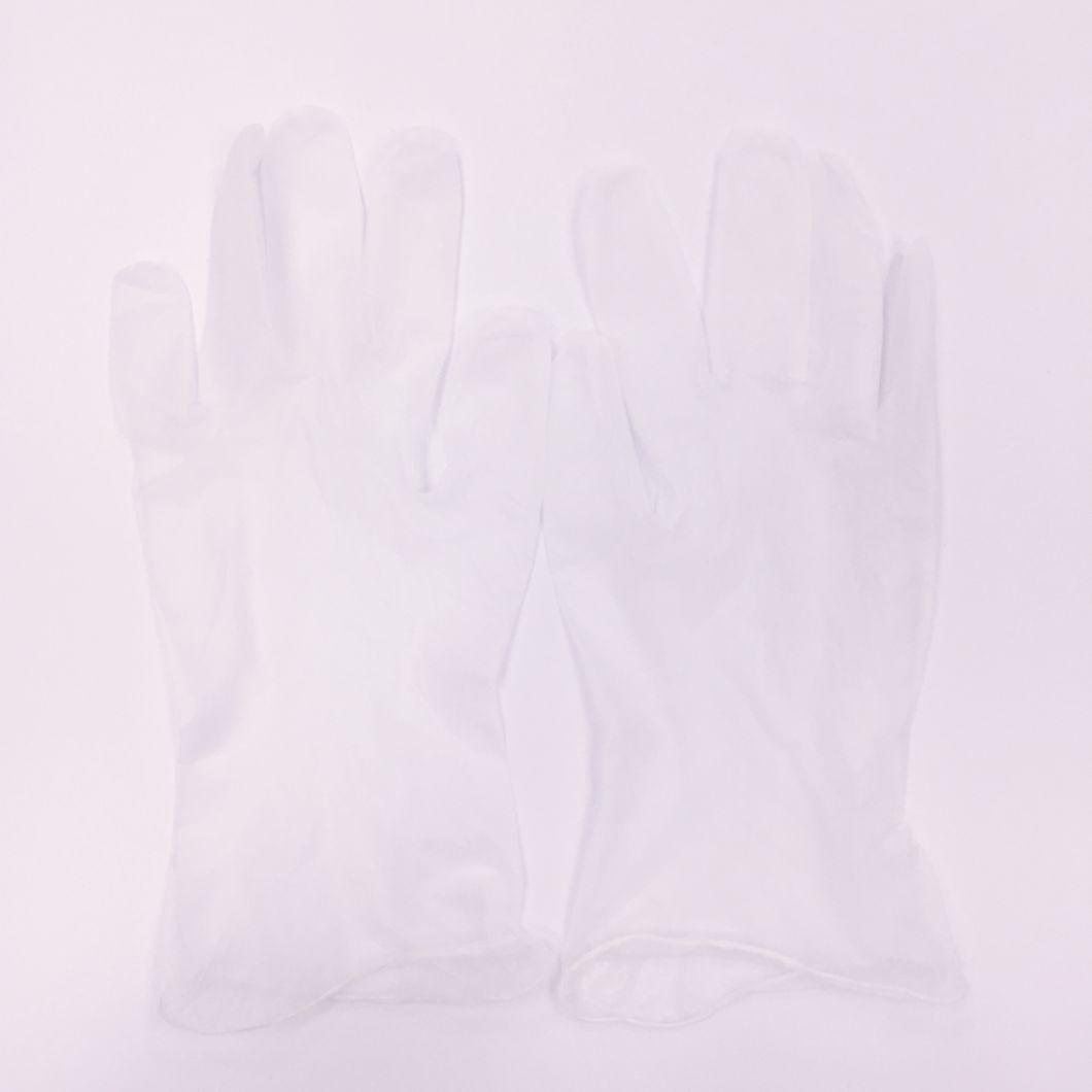 Disposable PVC Glove Vinyl Powder Free Nitrile Examination Gloves