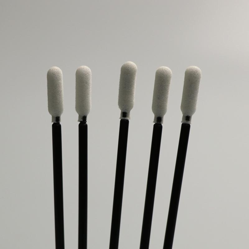 Black Stick Foam Swab
