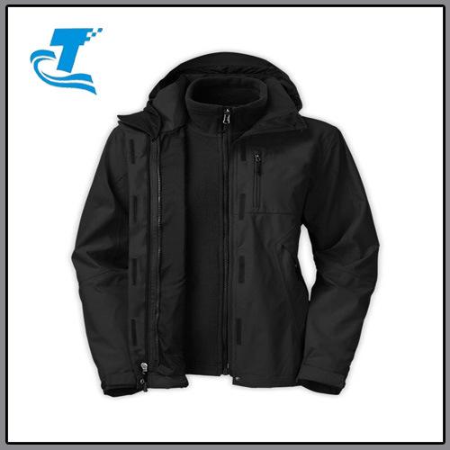 Women 3 in 1 Waterproof Windproof Hoody Jacket