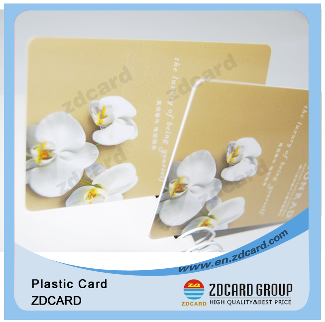 Blank PVC Inkjet Sle4428 Contact IC Smart Card