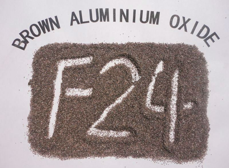 Supply 24 # Brown Fused Alumina (XG-010)