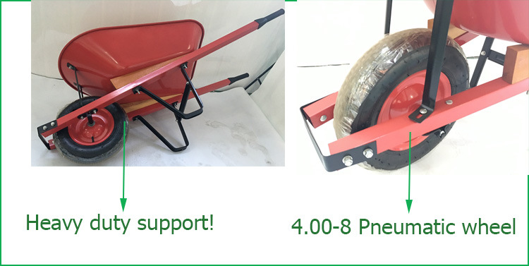 Heavy Duty Used Power Wheelbarrow for Sale