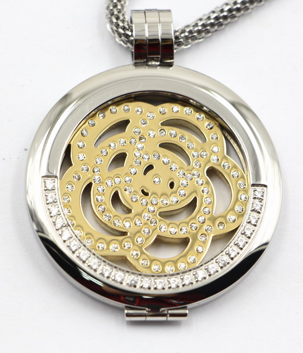 Hot Selling High Quality 316L Stainless Steel Locket Pendant Fashion Necklace