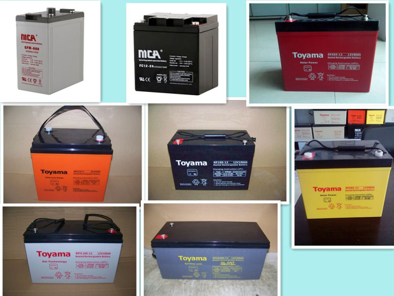 12V 42ah Solar Gel Recharge Battery Specification