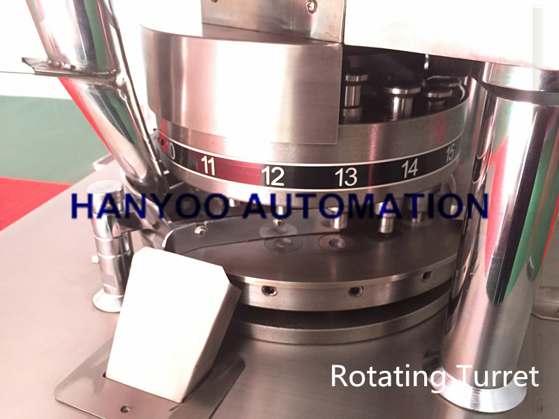 Zp17D Small Automatic Rotary Tablet Pill Press Machine