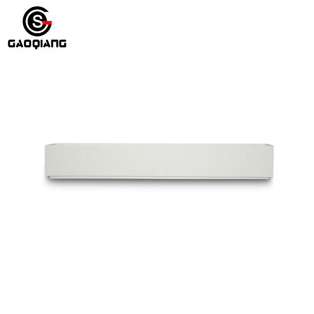 Lighting Factory White Gypsum Plaster G9 Decoration LED Wall Lamps Light for Home Hotel Room
