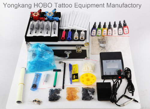 Complete Tattoo Kits Products with Machine Sets with Two Guns
