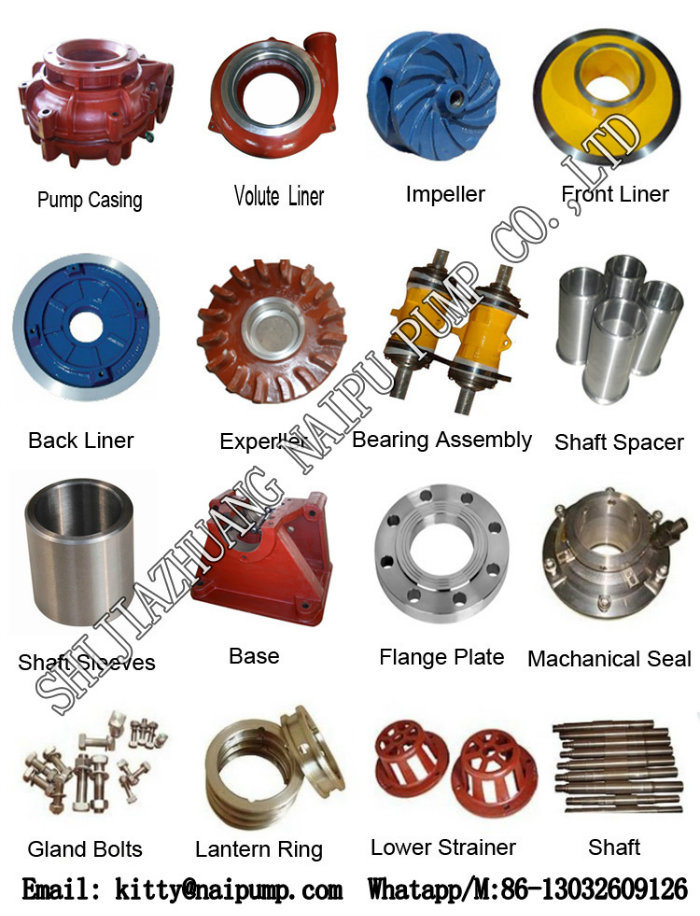 China Industrial Water Pump Spare Machining Parts