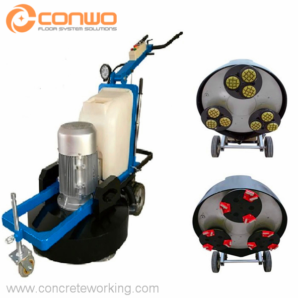 Planetary Concrete Floor Grinder and Polisher