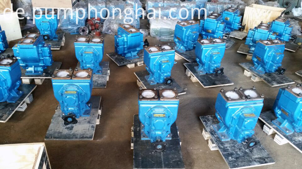 special explosion-proof fuel oil transfer circle arc gear pump