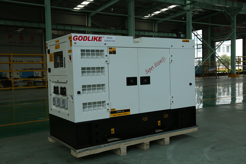 High Quality Silent Diesel Generator Set with Perkins Engine (100kVA/80KW)