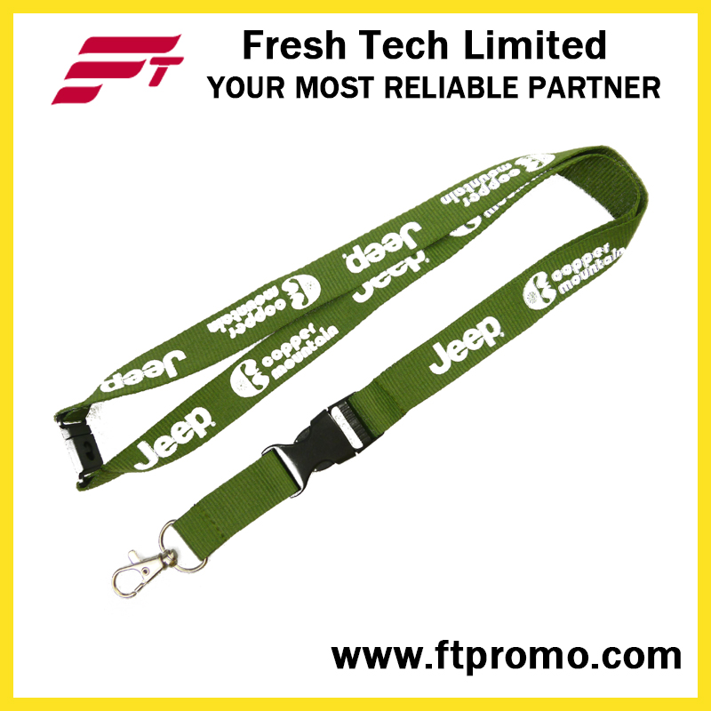 Chinese OEM Promotion Polyester Lanyard with Logo