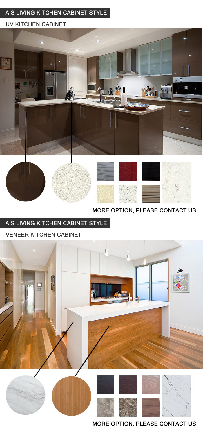 Professional Mould Design Wood Kitchen Cabinet, Modern Kitchen Cabinets Made in China (AIS-K561)