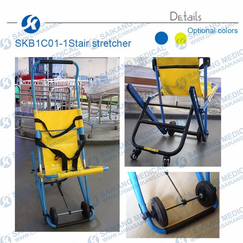Manual Aluminum Alloy Emergency Foldable Stair Stretcher