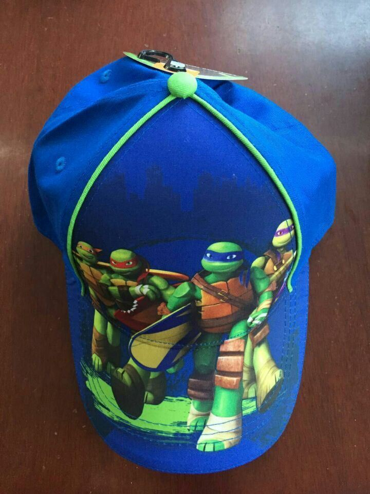OEM 6 Panel Children Cap with Metal Button Back Closure