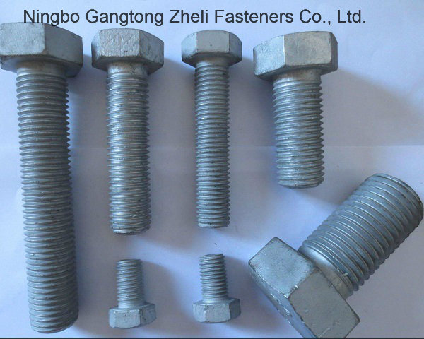 Stainless Steel ASME A325 Heavy Hex Structural Bolts